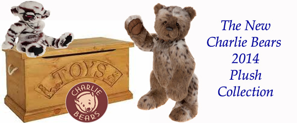 The Charlie Bears 2014 Plush Collection