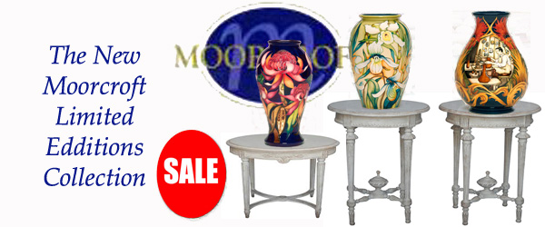 The New Moorcroft Limited Edditions Collection