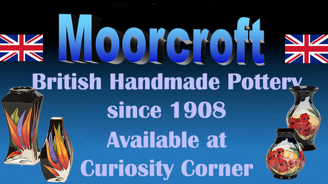 The Moorcroft Pottery Collection at Curiosity Corner
