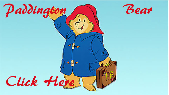 The New Paddington Bears Collection at Curiosity Corner