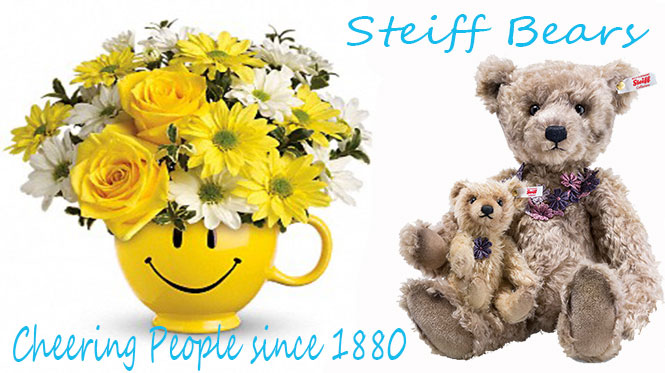 The Steiff Bears Collection at Curiosity Corner