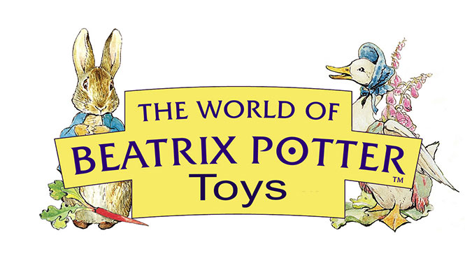 The New Beatrix Potter  Collection at Curiosity Corner