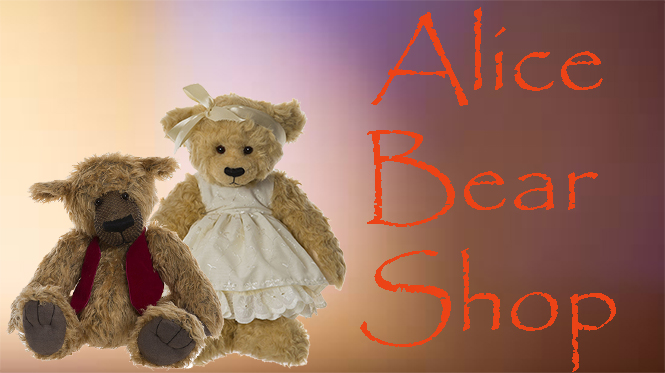 The Alice Bear Shop Collection at Curiosity Corner