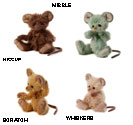 Charlie Bears Mouse Gang Set