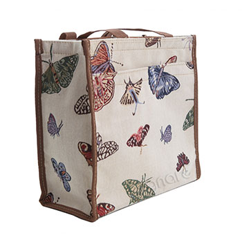 Butterfly Tapestry Shopper Bag