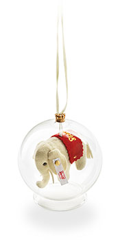 Steiff Elephant Ornament