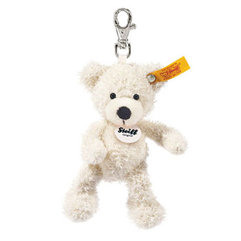 Steiff Keyring Lotte Teddy Bear White