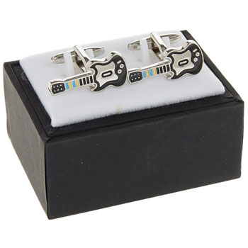 Mens  Cufflinks Guitar