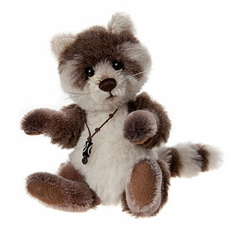 Charlie Bears Pitter Patter Racoon Minimo