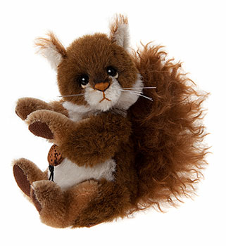 Charlie Bears Scampeteer Squirrel Minimo