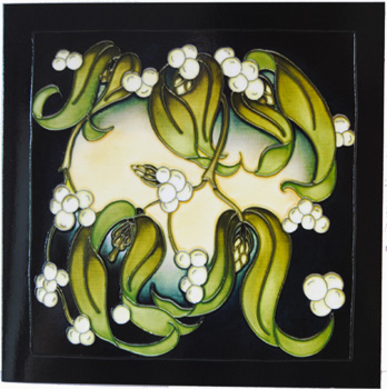 Moorcroft Christmas Card Golden Bough