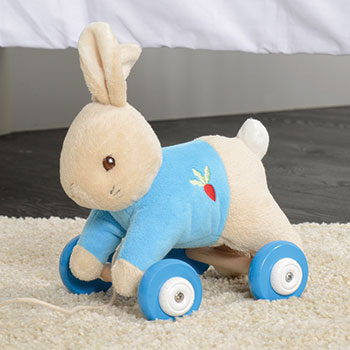 Peter Rabbit Pull along
