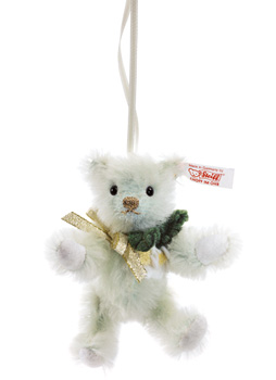 Steiff Christmas Rose Teddy Bear Ornament