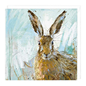 Card Brown Hare