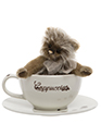 Charlie Bears Coffee Cup Set