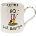 Cheeky Sport Mug Cricket