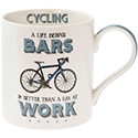 Cheeky Sport Mug Cycling