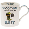Cheeky Sport Mug Fishing