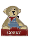 Alice Bear Shop Pin Badge Cobby