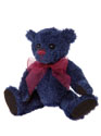 Charlie bears Denim Keyring