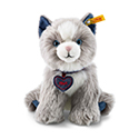 Steiff Denim Darlings Paws Cat