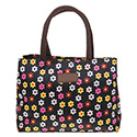 Flowerpower Waterproof Handbag Black