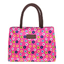 Flowerpower Waterproof Handbag Pink