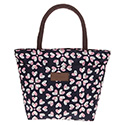 Hearts Waterproof Handbag Navy