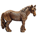 Art Bronze Shire Horse Large