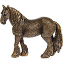 Art Bronze Shire Horse Small