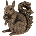 Art Bronze Squirrel Large
