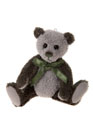 Charlie Bears Tweed Keyring