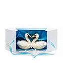 Steiff Wedding Swan Set
