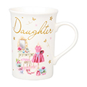 With Love Mug Daughter