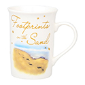 With Love Mug Footprints