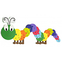 Alphabet Caterpillar Puzzle