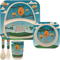 Bamboo Eco Baby Food Set Bee