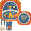 Bamboo Eco Baby Food Set Zoo
