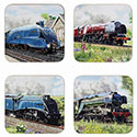 Boxed Classic Trains Coasters