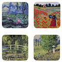 Boxed Claude Monet Coasters