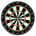 Wall Clock Darts Glass Large