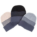 Men 3 Colour Beanie Hat