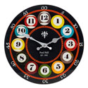 Wall Clock Pool Glass Large