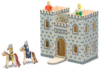 Melissa and Doug Fold and Go Castle