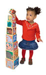 Melissa and Doug Animal Wooden Stacking Blocks