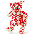 Steiff Coca-Cola Diamond Pattern Bear