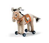 Steiff Donkey On Wheels