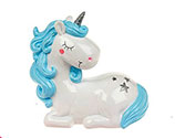 Unicorn Blue Money Box