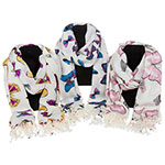 Butterfly Boxed Scarf
