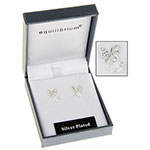 Butterfly Crystal Drop Earring